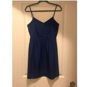 J Crew Blue Mini Dress